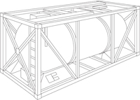 20' Open-Top-Container