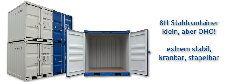 8ft Lagercontainer